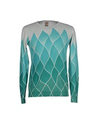 Kaos Knitwear Jumpers Men Pastel Blue