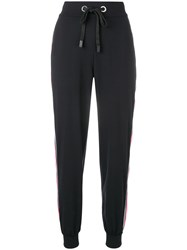 No Ka' Oi Side Stripe Joggers Black
