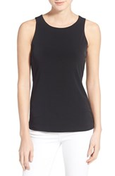 Women's Halogen Double Layer Tank Black
