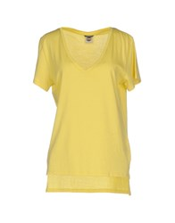 Colmar T Shirts Yellow