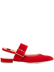 Fabio Rusconi Pointed Toe Sandals Red