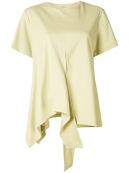 Goen.J Oversized Asymmetric Top Yellow