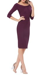 Js Collections Women's Bandage Midi Dress Plum