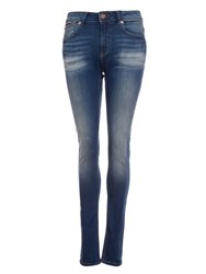 Garcia Faded Skinny Jeans Blue