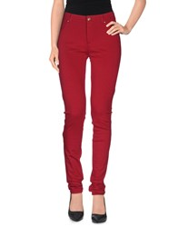 Versace Jeans Trousers Casual Trousers Women Red