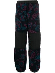 Aries Paisley Print Track Pants Blue