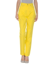 Iceberg Jeans Casual Pants Yellow