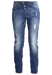 Tom Tailor Denim Relaxed Fit Jeans Mid Stone Wash Blue Denim