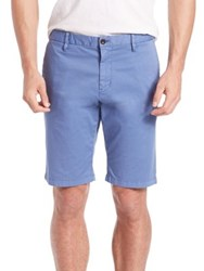 Strellson Cotton Chino Shorts Pastel Blue