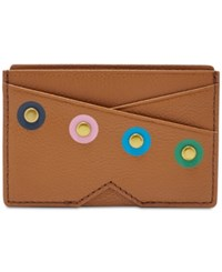 Fossil Gift Card Case Brown