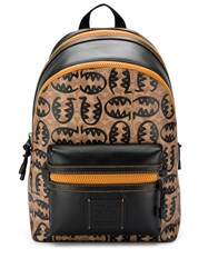 Coach Monster Logo Backpack Black