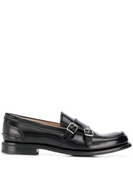 Church's Double Buckle Loafers Black