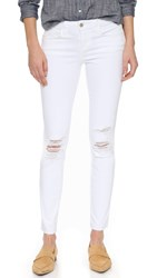 L'agence Chantal Skinny Jeans White Destruct