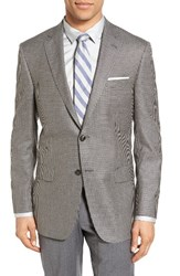 Hart Schaffner Marx Men's Classic Fit Check Silk And Wool Sport Coat