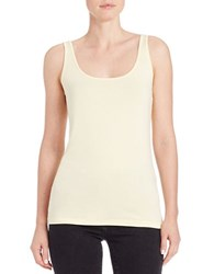 Lord And Taylor Petite Iconic Fit Tank Top Canary