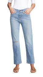 Good American Straight Jeans Blue408