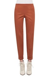 Akris Women's Cuffed Stretch Cotton Pants