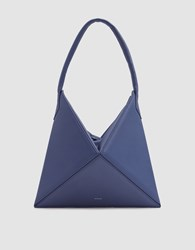 Mlouye Mini Flex Hobo Bag In Blueberry