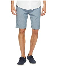 7 For All Mankind The Chino Shorts In Chambray Nep Chambray Nep Men's Shorts Blue