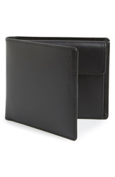 Porsche Design 'Classic Line' Leather Billfold Wallet Black