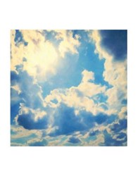 Marmont Hill Clouds Painting Print On Wrapped Canvas Blue