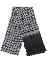 Dolce And Gabbana Patterned Fringed Scarf 60