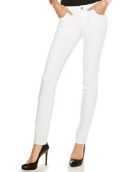 Inc International Concepts Skinny Jeans White Wash