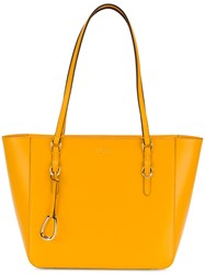 Ralph Lauren Halee Tote Yellow And Orange