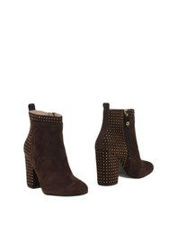Guess Footwear Ankle Boots Women Cocoa