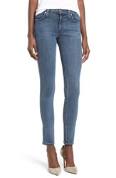 James Jeans Women's Ankle Skinny Nyc Blue