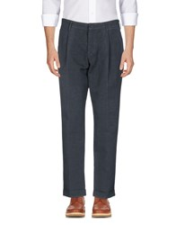 The Editor Casual Pants Slate Blue