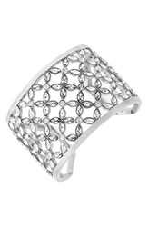 Women's Louise Et Cie Wide Crystal Cuff