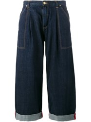 House Of Holland Wide Leg Jeans Blue
