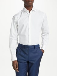 Smyth And Gibson Poplin Contemporary Fit Shirt White