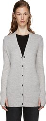 Rag And Bone Grey Cashmere Alexandra Cardigan