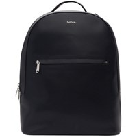 Paul Smith Navy Embossed Backpack