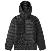 Patagonia Down Sweater Hooded Pullover Black