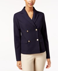 Charter Club Double Breasted Blazer Only At Macy's Deepest Navy