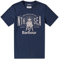 Barbour North Sea Tee Blue