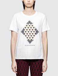 Undercover White Bee Print T Shirt