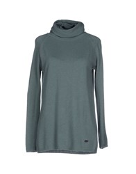 Henry Cotton's Knitwear Turtlenecks Women Green