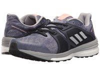 Adidas Supernova Sequence 9 Super Purple Silver Metallic Mid Grey Women's Running Shoes Gray