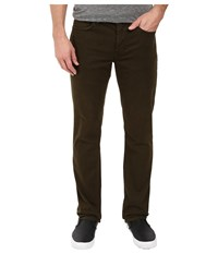 Joe's Jeans Brixton Straight Narrow Stevenson Colors Olive Drab Men's Casual Pants