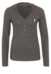 O'neill Marly Long Sleeved Top Deep Dark Melee Grey
