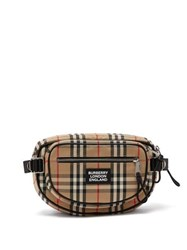 Burberry Vintage Check Canvas Backpack Multi