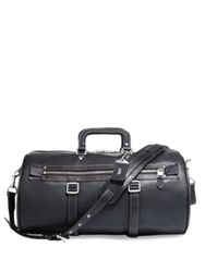 Coach Flag Gym Duffle Bag Black