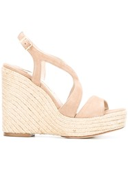 Paloma Barcelo Fedry Sandals Nude Neutrals