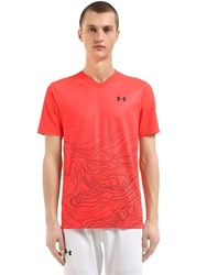 Under Armour Andy Murray Forge Tennis T Shirt Neon Coral