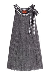Missoni Sleeveless Lame Top With Ribbon