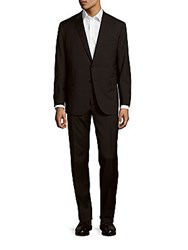 Polo Ralph Lauren Drake Modern Fit Pinstripe Wool Suit Black Grey